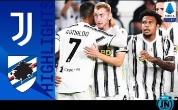 [Highlights] Juventus vs Sampdoria - Serie A Highlights